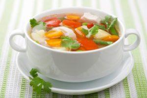 рецепт овощного супа для больных панкреатитом