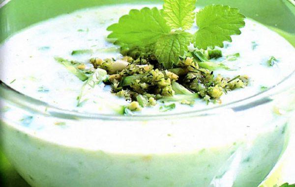 овощной суп из цукини
