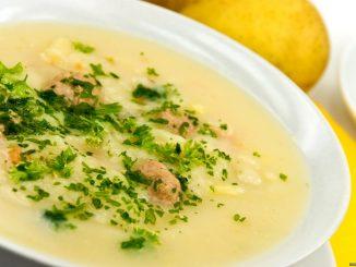 овощной суп из цветной капусты и кабачков
