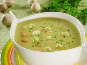 овощной суп с кабачками и цветной капустой