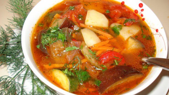 супы на воде