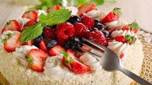 сладкое пироженное при гастрите