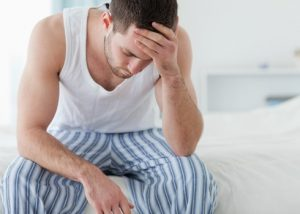 Мужчина с болями в животе