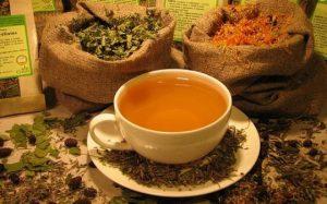 Чашка чая из трав