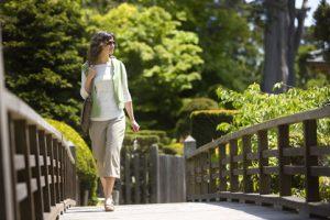 прогулка на природе от стресса