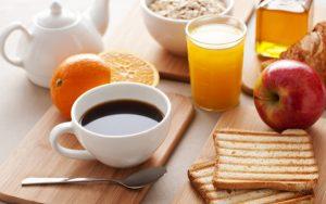 легкий завтрак