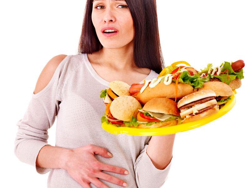 изжога после еды причины