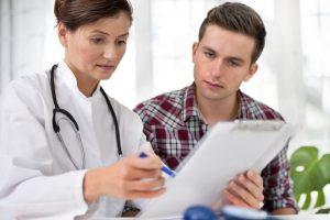 Пациент у врача