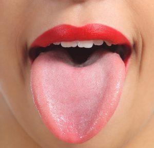 влажный язык